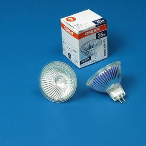 OSRAM  35 W  GU 5.3  12V Halogen  MR 16 Downlight  Globes Bulbs Down FROM SYDNEY