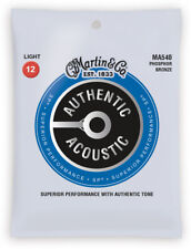 Martin Ma540 Phosphor Bronze Acoustic Guitar Strings Light 12-54
