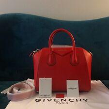 Givenchy Small Antigona Small Pop Red Satchel Bag