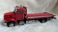 """Peterbilt Jerr-Dan Rollback Truck - """"RED"""" - 1/50 - TWH #080-01099"""