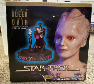 Star Trek First Contact Borg Queen  Data Playmates Statue Limited To 5000
