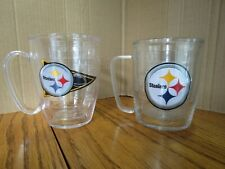 Tervis Pittsburgh Steelers Insulated Mug Set of 2 Hot Cold 14 oz