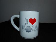 I LOVE POLA 2 SIDED COFFEE TEA MUG 8 OZ  VERY NICE! FREE SHIPPING!