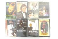 Lot of 8 Cassette Tapes Godon Lightfoot Hank Williams Kenny Rodgers