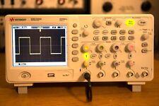 HP Agilent Keysight DSO1024A 200 Mhz Oscilloscope Essentially NEW!