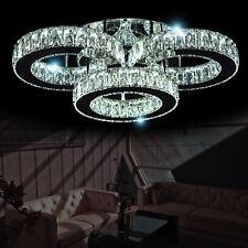 LED Deckenleuchte Kristall Kronleuchter Deckenlampe Lüster Licht Wohnzimmer