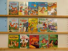 Walt Disney 15 Bücher Kinderbücher Dumbo Cap und Capper  Strolchi u.a. Paket 2