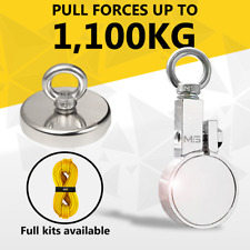 Fishing Magnet Neodymium Super Strong Recovery Pull Force 200kg 500kg 1000KG