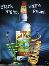 Publicité advertising 2007 Le Rhum Blanc Old Nick