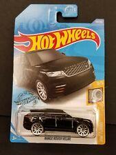 2020 Hot Wheels RANGE ROVER VELAR 119/250 BLACK - BOX SHIP FREE