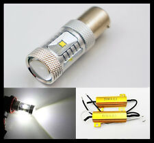 2x 1156/Ba15s 382 P21W 30W CREE LED DRL White VW CC Audi A4 + resistors CANBUS