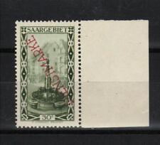 1927 Saar / Sarre / Saargebiet Dienstmarke Mi 16 SR gepr BPP ** postfr