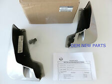 2007-2011 Nissan Sentra Front Splash Gaurds Genuine 999J2-LVHAB13 Sonoran Sand