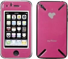 ICandy Nuova Pelle per Apple iPhone 3 G, 3GS-LOVE-Telefono Rosa