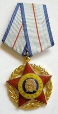 c145 Romania Communist Order for Military Merits RSR class I