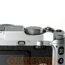 Thumb Up Grip Silver for Fujifilm X-E1 X-M1 X-A1 X-E2 X-Pro1