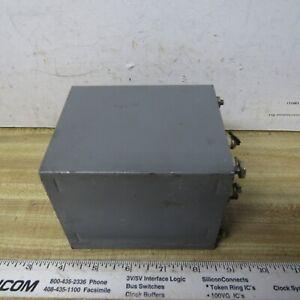 TRANSFORMER Power Filament 5VCT @ 14.5A 6.3V @ 6.5A HAM RADIO