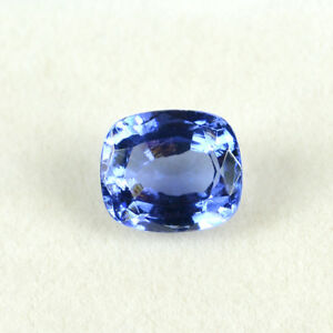 7.76 KT Zaffiro Blu Misura Anello Cuscino Forma Sfuso Gemma Da Sri Lanka