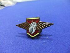 vtg badge dunlop aviation tyres winged ww2 works staff advert advertising