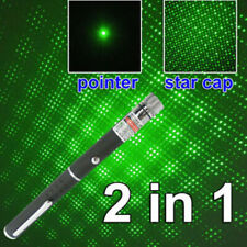 200Miles 2in1 Mini Aaa Green Laser Pointer Pen Powerful Visible Beam Light Lazer