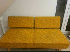 FUNKTIONSSOFA/DAYBED  Knoll  Stella 60er Jahre Design Sofa Couch (Wilhelm Knoll)