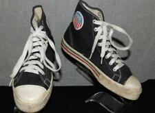 Mens Vtg 50s 60s Pro Basketbal Maybe Ked Black White High Top Sneakers Sz 8