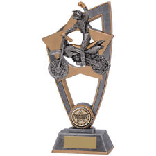 Motorcross Resin trophy Award in 3 Sizes with FREE Engraving up to 30 Letters
