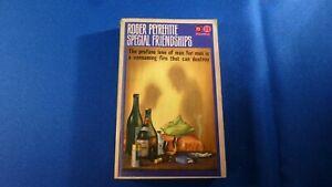 VINTAGE FICTION BOOK ROGER PEYREFITTE SPECIAL FRIENDSHIPS 1964 PANTHER UK