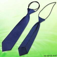 Blue Dot School Boy Girl Kids Child Wedding Party Elastic Tie Necktie 4947114