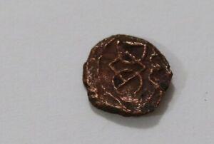 Danish India Colony Trankebar Tranquebar OLD COIN B37 #Z37