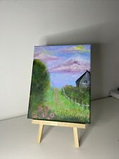 More details for acrylic landscape painting on canvas