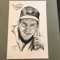 """Brooks Robinson Signed Autographed 12x18 Photo """" 1970 WS MVP"""" JSA COA #W371660"""