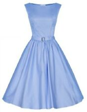Lindy Bop 'Audrey' Vintage Inspired 1950s Swing Jive Party Dress Multiple Colour