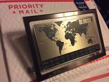 Rare Vintage 1980's Talking SEIKO WORLD TIME VOICE ALARM Table Clock Tested