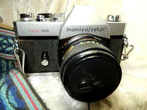 Mamiya / Sekor Dsx 1000 35 mm camera With Mamiya/Sekor Auto sx f=50mm Lens