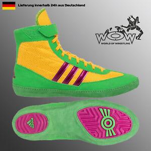 Ringerschuhe Adidas Combat Speed 4 Kampfsport Boots Wrestling Shoes Solar