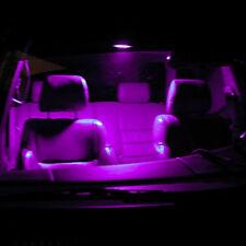 2 ampoules à LED lumière plafonnier  rose pour Citroën C1 C2 C3 C4 C5 C6 C8
