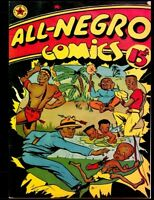 All-Negro Comics #1: Jam-Packed With Fast Action and African - New Comic Reprint