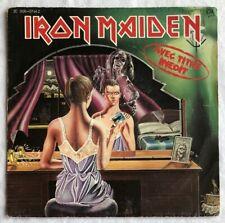 "IRON MAIDEN -Twilight Zone- Original French 7"" +Picture Sleeve (Vinyl Record)"