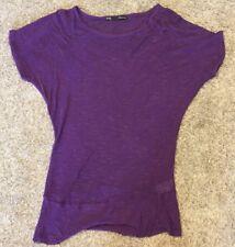 Maurices Women's Purple Shirt Size Medium. Very Good Condition.