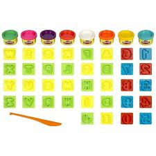 Play-Doh Numbers Letters N Fun Art Toy, New, Free Shipping