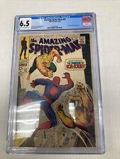 Marvel Comics Amazing Spider Man 57 CGC Graded 6.5