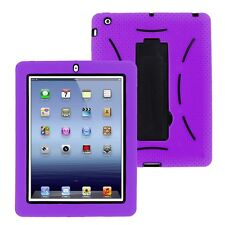 Shockproof heavy duty cover case stand For Apple iPad 2 3 4 Air 1st 2nd Mini 3rd