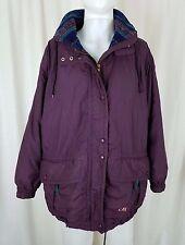 Mens Vintage CB Sports Fleece Lined Anorak Winter Ski Snowboard Parka Jacket M
