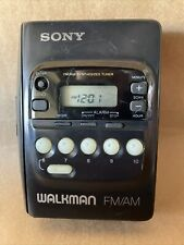 Vintage Sony Walkman Wm-Fx20 Portable Radio Cassette Tape Player Belt Clip. Mb4