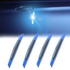 4x Carbon Fiber Car Door Protector Guard Edge Side Mirror Molding Anti Scratch