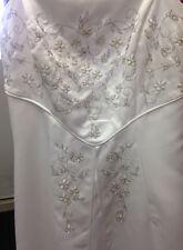 Masquerade size 8 Wedding Gown Dress Precious!