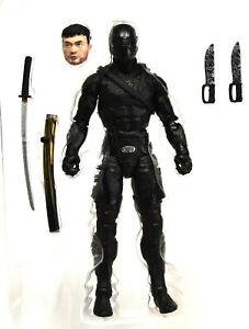 "Loose Gi Joe Snake Eyes Movie 6"" Figure Classified Snake Eyes Figure #16"
