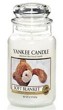 Yankee Candle Candela profumata Soft Blanket Giara Grande durata 150 ore