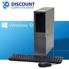 Dell Optiplex 960 Windows 10 Desktop Computer PC 3.0GHz Core 2 Duo 8GB 500GB